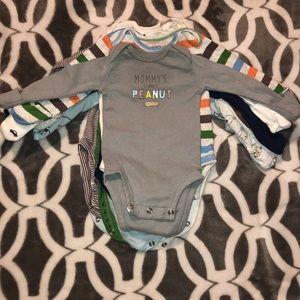 👶🏽NB Baby boy bodysuit Bundle!
